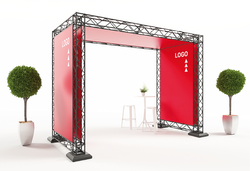 X-20 MESSESYSTEM OUTDOOR MESSESTAND