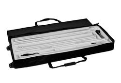 Kohlschein-LED-Leuchtwand ALU-Module Transporttasche mit Schaumstoffinlay