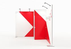 K-Profil 3 x 3 m Eckstand