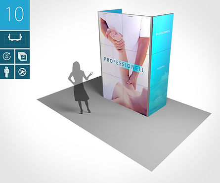 Infostand proFAIRssional Messestand System