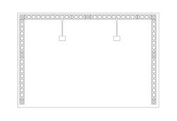 X-Module Reihenstand 3 x 2