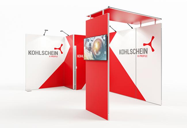 K-Profil 5 x 3 m Eckstand