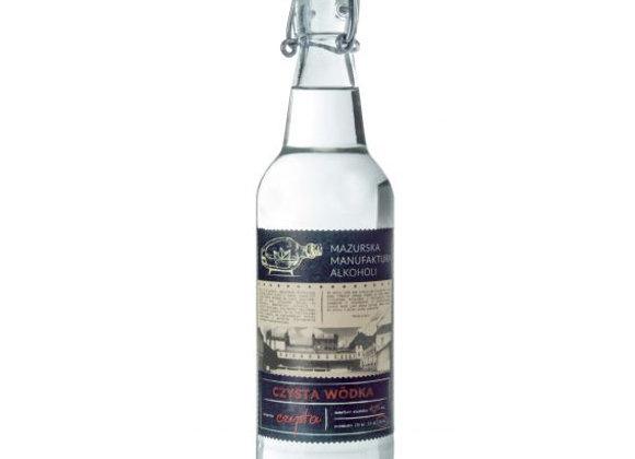 WÓDKA CZYSTA 0,5l – 40 % vol – Klarer Wodka