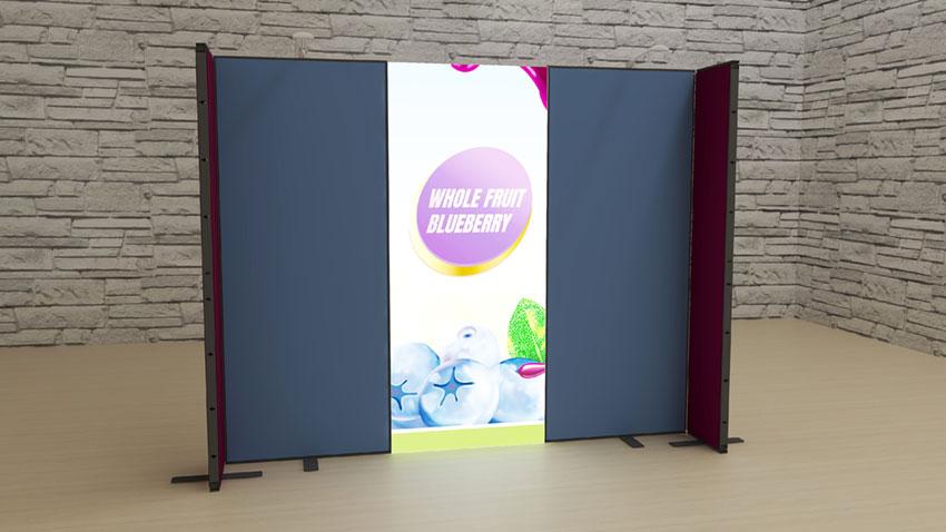 Kluban mobile LED-Hausmessewand-Kongresswand DIY-Leuchtmessewand für Einsteiger/Gründer