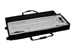 KOHLSCHEIN   MESSE MIT SYSTEM Transporttasche rollbar mit Schaumstoffinlay für LED-Messewand