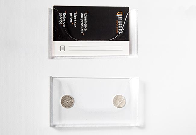 Magnetischer Visitenkartenhalter