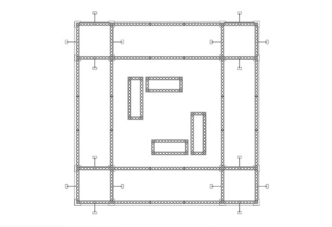 Skizze X10-6-x-6-m-Inselstand