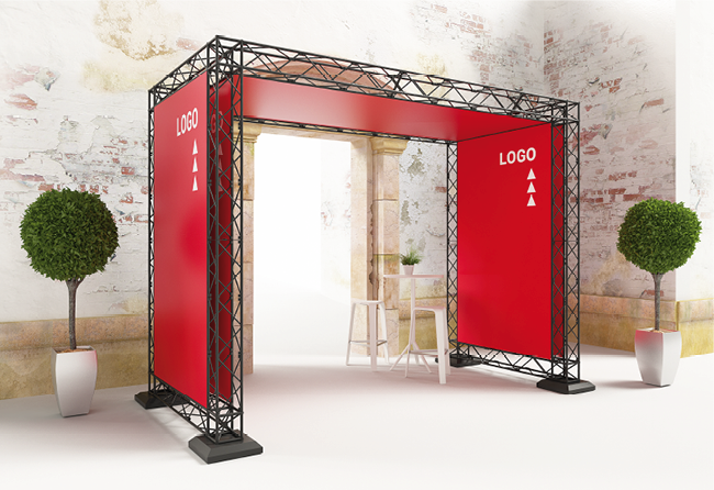 X-20 X-Module Outdoor Messestand