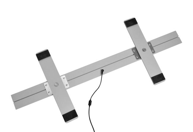 Ansicht-Stellfußunterseite-derLED-Leucht