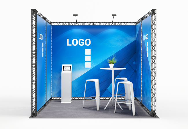X-Module Crosswire Messestand