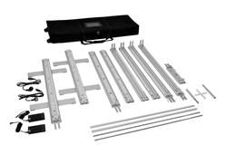 KOHLSCHEIN mobile Messesysteme LED-Messewand Einzelteile mit Transporttasche