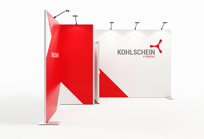 K-Profil 4 x 3 m Eckstand