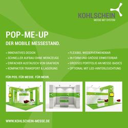 Pop-ME-UP Infowand