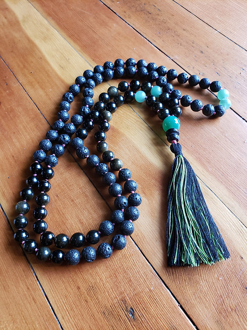 Meditation Beads - Mala Necklace with 108 Beads