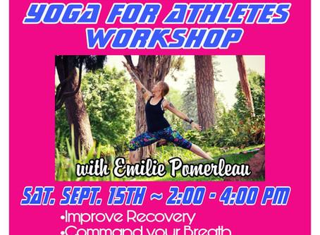 Yoga for Athletes Workshop