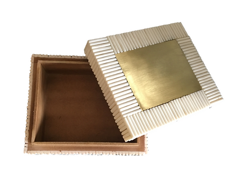 Bone & Brass Box