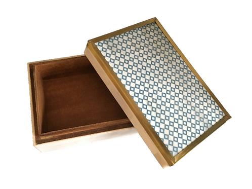 Blue Diamond Box
