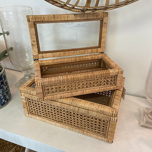 Woven Curiosity Basket, Small