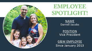 Employee Spotlight | Darrell Jacobs