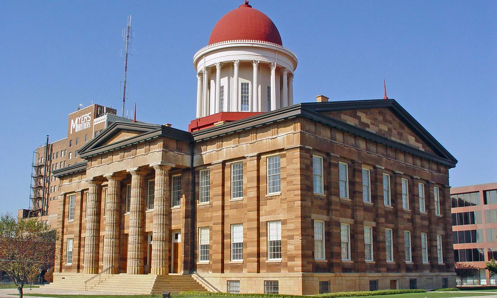 OLD STATE CAPITAL BUILDING