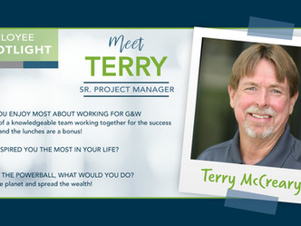 Employee Spotlight-Terry McCreary