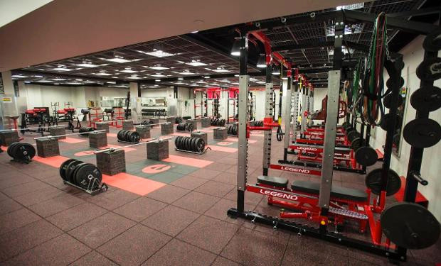 SIUE WEIGHT ROOM ADDITION