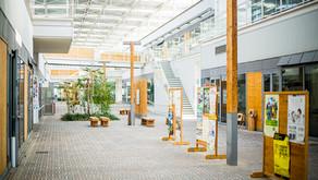 西播磨の魅力を再発見できる、エコロジカルで開放的な県庁舎
