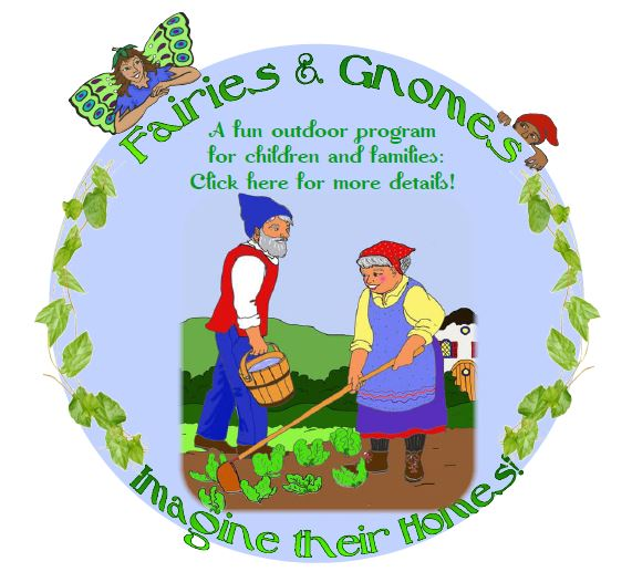 Pic Gnomes Gardening logo for button