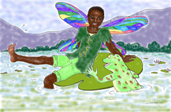 Pic Fairy and frog full color (1)