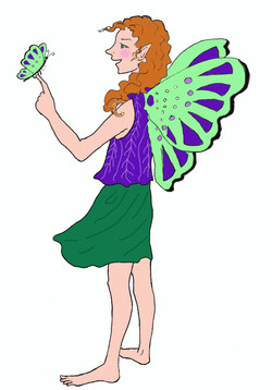 Pic Fairy with butterfly color edited