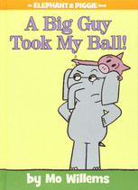 A big guy took my ball!.
