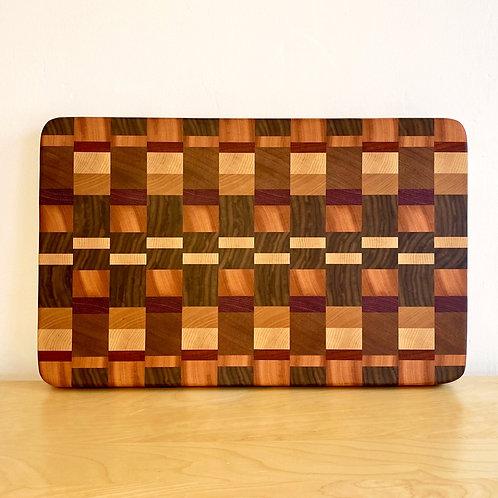 8/4 End Grain Cutting Board - Pattern 2
