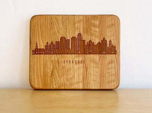 City Skyline Cutting Board