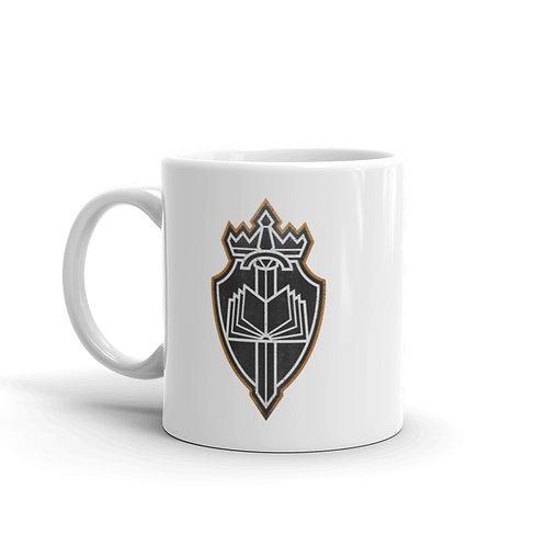 Full Armor White glossy mug
