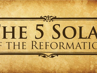The Reformation Solas