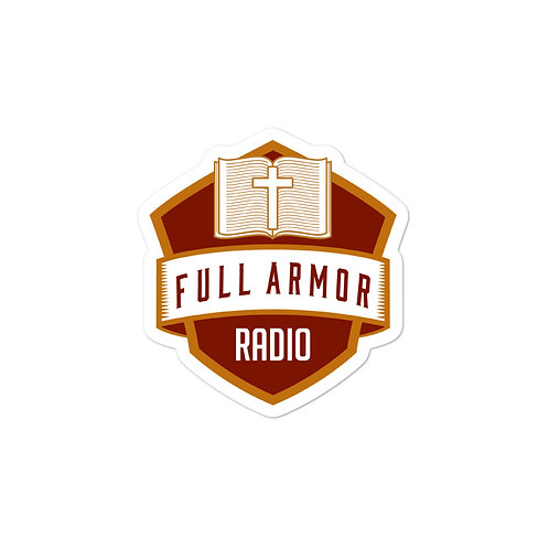 Full Armor Radio Stickers