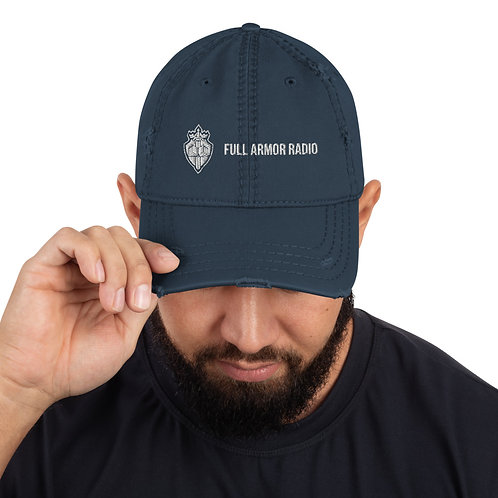 Full Armor Distressed Dad Hat