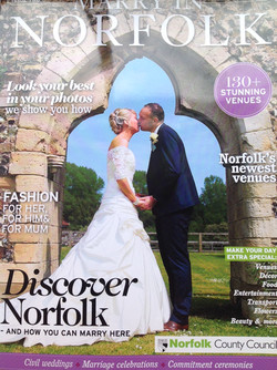 Marry In Norfolk Autumn 2015 cover