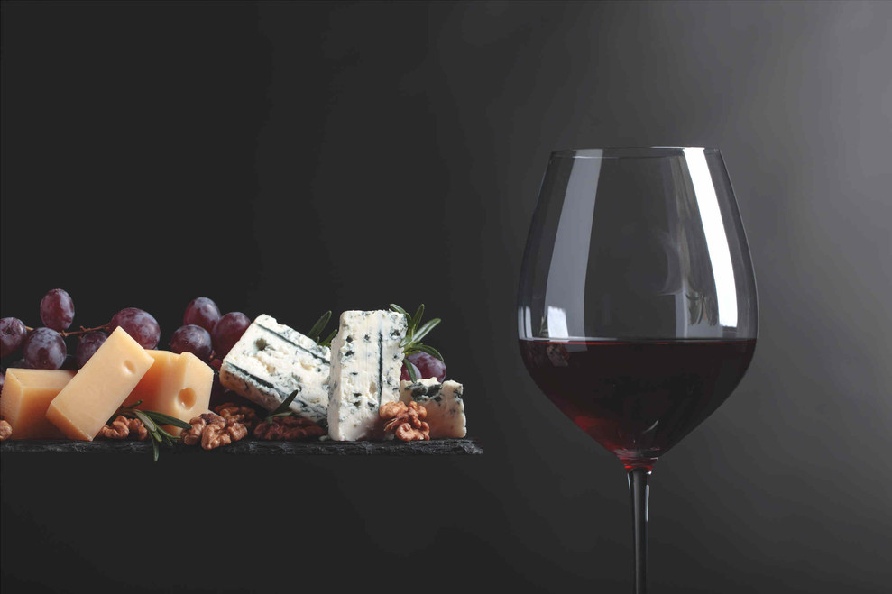 Rotwein und Käse 2019