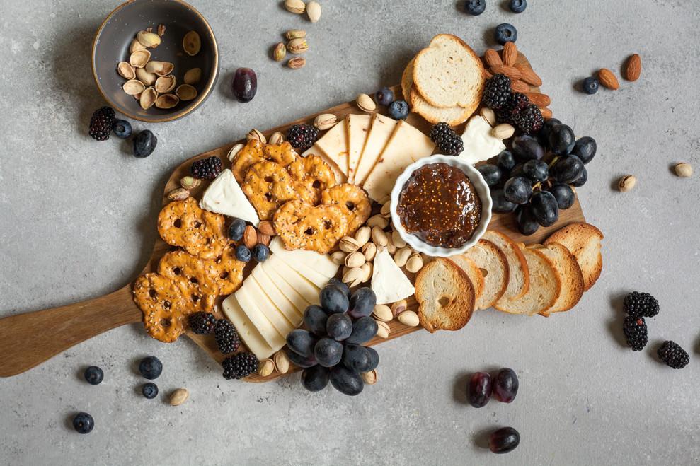 Rotwein und Käse 2018