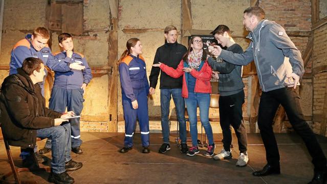 Bortfelder Theaterjugend führt erstes eigenes Stück auf