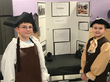 5th Grade Puts on Colonial Days