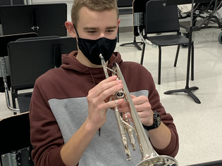 Chatham Charter Band Student Makes All-District Band