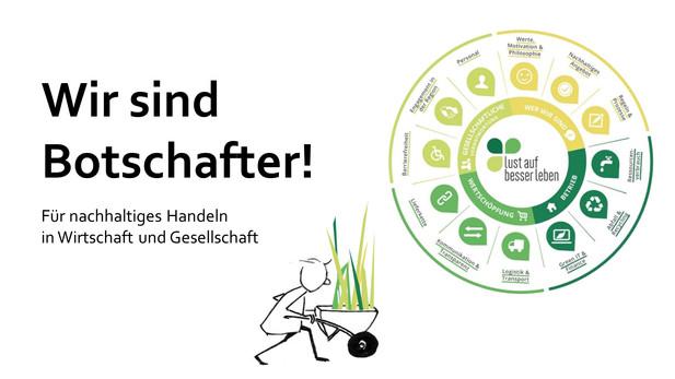 Nachhaltigkeitsbotschafter