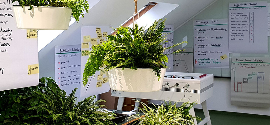 Sprout_Buero_Kicker_Pflanzen_Flipcharts.