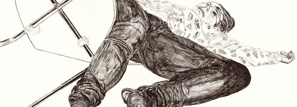 Stripy Socks - Leanne Broadbent