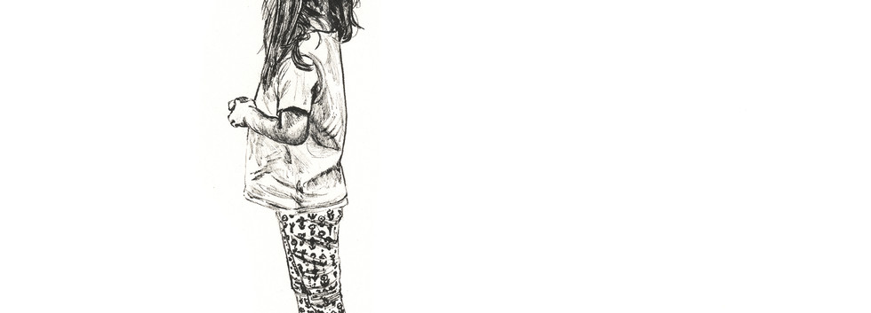 Pattened Leggings - Leanne Broadbent - 2019