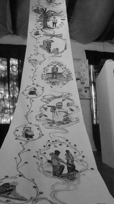 Groteque Wallpaper - Leanne Broadbent -