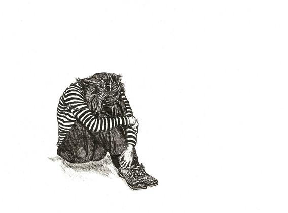 Stripy Top - Leanne Broadbent