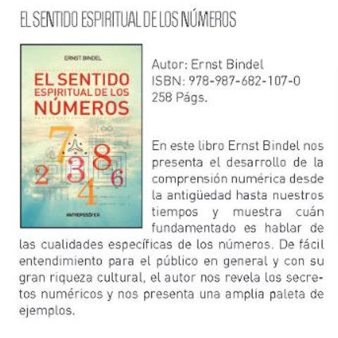 """Ernst Bindel """"El sentido espiritual de los números"""""""